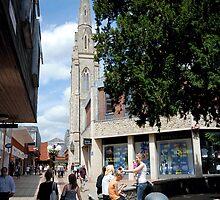 Colchester town, Essex - Lion Walk by newbeltane