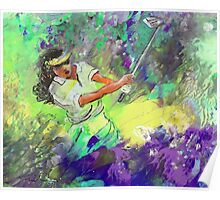 Lady Golf 06 Poster
