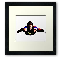 Superwork! Framed Print