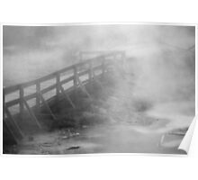 Steamy Walkway Poster