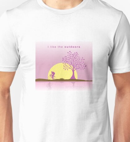 I like the outdoors- I like series Unisex T-Shirt