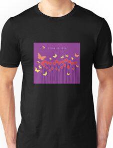 I like to love- I like series Unisex T-Shirt