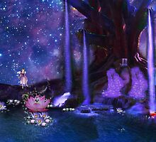 Water Fairy and Fantasy world by Nandika-Dutt