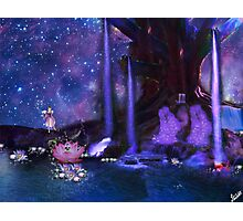 Water Fairy and Fantasy world Photographic Print
