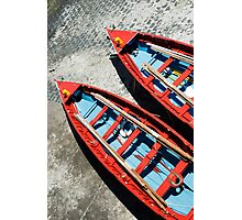 Rowboats Photographic Print