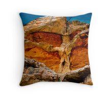 Tree of Stone & Wood Throw Pillow