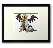 Giratina - Pokemon Framed Print