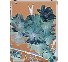 Blossom - Faded orange and grey iPad Case/Skin
