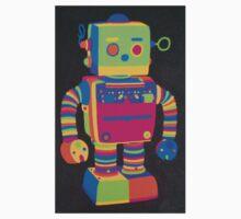 Neon Robot 1 Kids Tee