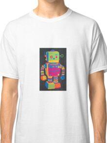 Neon Robot 1 Classic T-Shirt