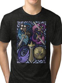 Honedge! Doublade! Aegislash! Tri-blend T-Shirt