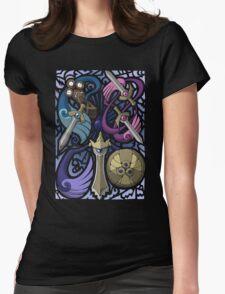 Honedge! Doublade! Aegislash! Womens Fitted T-Shirt