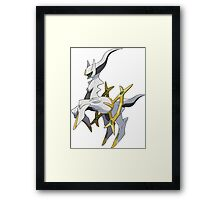 Arceus - Pokemon Framed Print