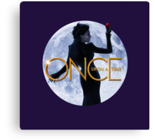 Once Upon A Time - Evil Queen Canvas Print