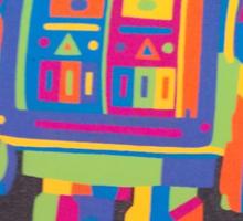 Neon Robot 2 Sticker