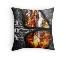 Oil of Joy Throw Pillow