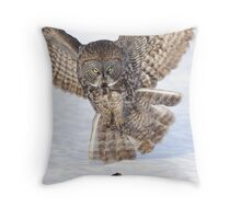 Moment of Impact Throw Pillow