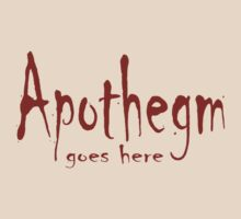 Apothegm 3 by Terry Walker