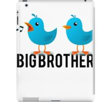 Big Brother Announcement iPad Case/Skin