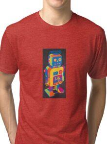 Neon Robot 3 Tri-blend T-Shirt