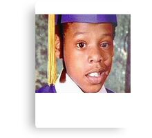 Young Jay Z Metal Print