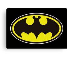 Batman Bat Mickey Canvas Print