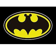 Bat Mickey Photographic Print