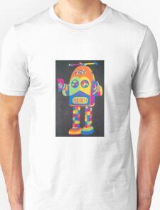 Neon Robot 4 Unisex T-Shirt