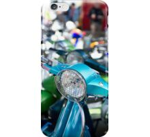 Vespa Scooters iPhone Case/Skin