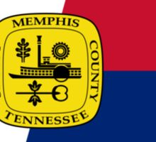 Flag of Memphis, Tennessee  Sticker
