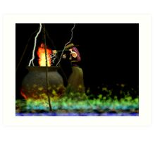 burning burning burning Art Print
