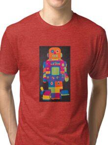 Neon Robot 6 Tri-blend T-Shirt
