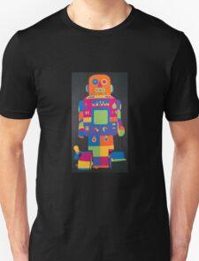 Neon Robot 6 Unisex T-Shirt