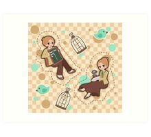 Bioshock Infinite - Lutece Twins Art Print