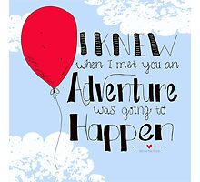 Adventure is going to happen by Traci Maturo