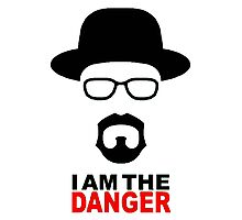 Breaking Bad- I am the danger Photographic Print