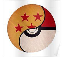 Dragonball-pokeball Poster