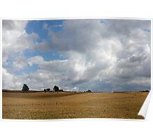 Clouds Gathering - Rural Northern Tasmania Poster