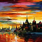 I Saw A Dream 2 — Buy Now Link - www.etsy.com/listing/203816625 by Leonid  Afremov
