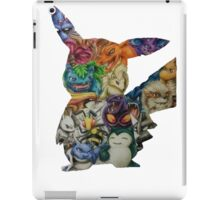 Pokemon Drawing iPad Case/Skin