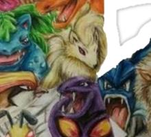 Pokemon Drawing Sticker