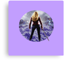 Once Upon A Time - Emma Swan Canvas Print
