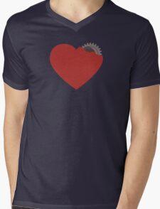 My heart is broken... or not? :) Mens V-Neck T-Shirt