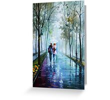 Foggy Stroll — Buy Now Link - www.etsy.com/listing/205719355 Greeting Card