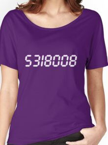 5318008 - White Women's Relaxed Fit T-Shirt