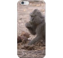 Elephants do not digest much iPhone Case/Skin