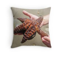Mosiac Starfish Throw Pillow