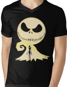 JACK THE HERO Mens V-Neck T-Shirt