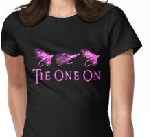 Fly Fishing Girl Womens Fitted T-Shirt