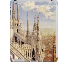 Milano,_travel_poster_for_ENIT,_ca._1920 iPad Case/Skin